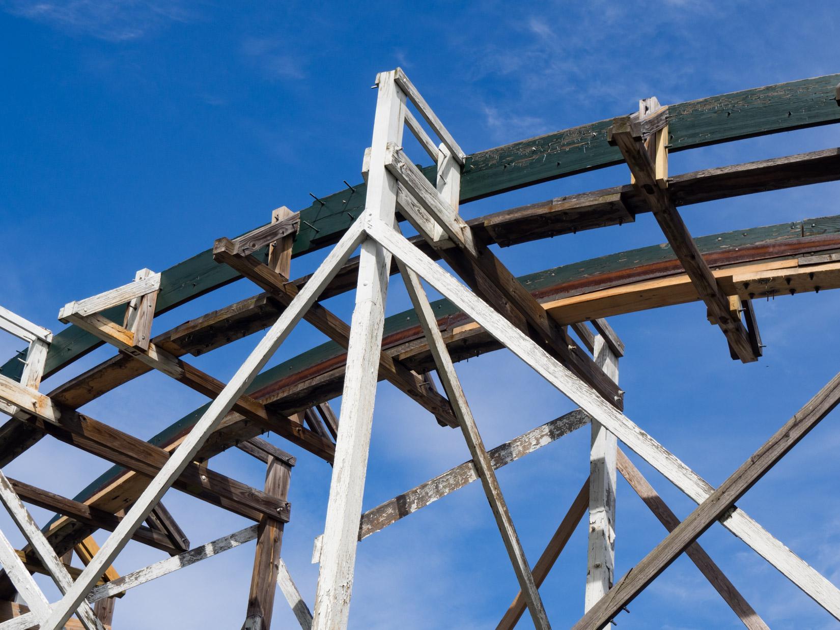Wooden Rollercoaster Tracks