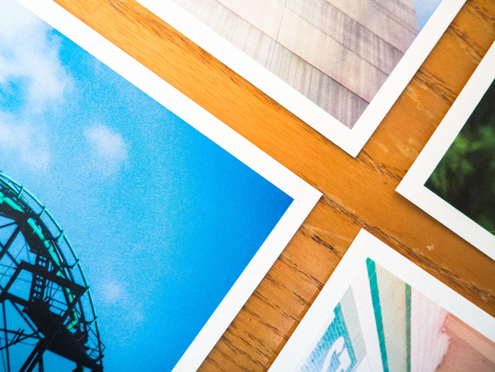 Photos on Desk