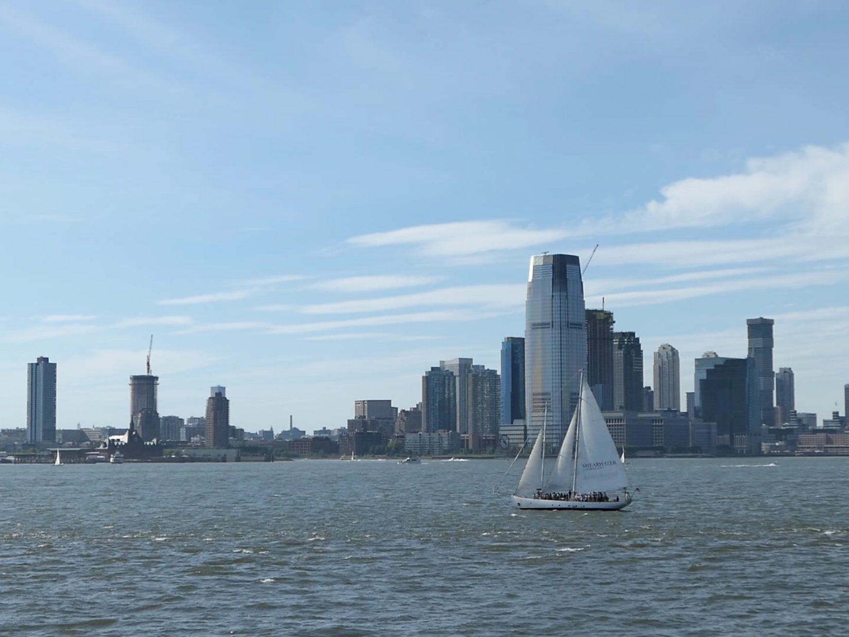 Buildings and Sailboats