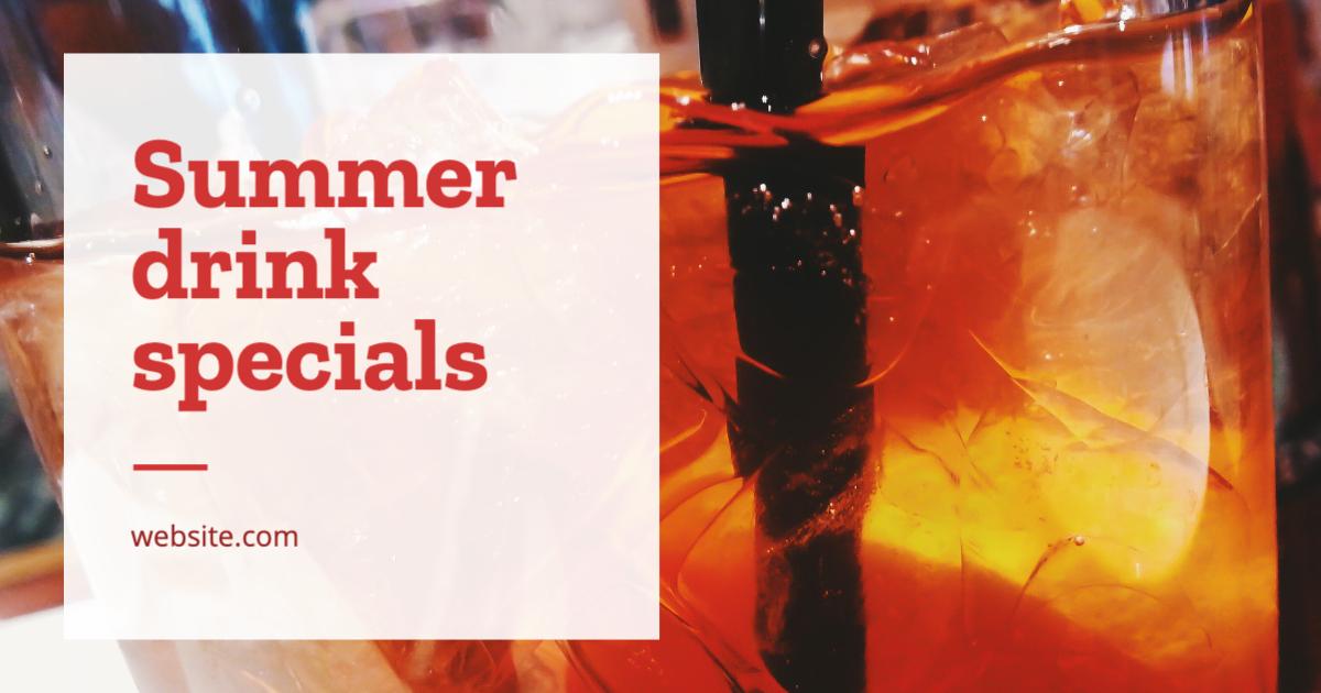 Summer Drink Specials