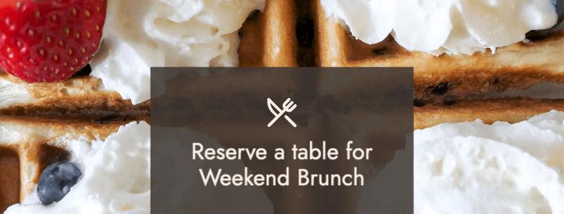 Weekend Brunch Reservations