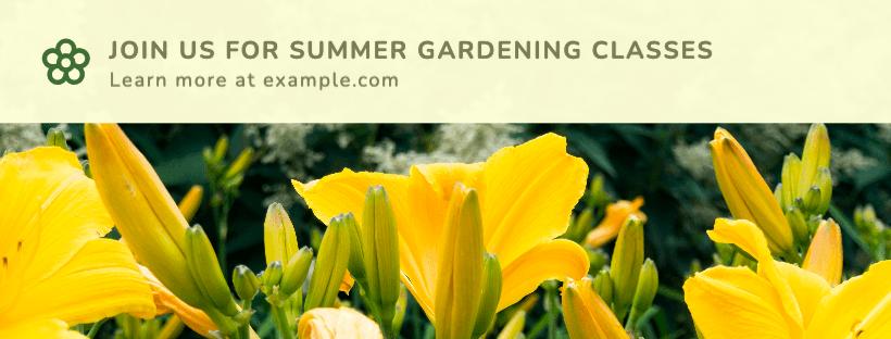 Summer Gardening Classes