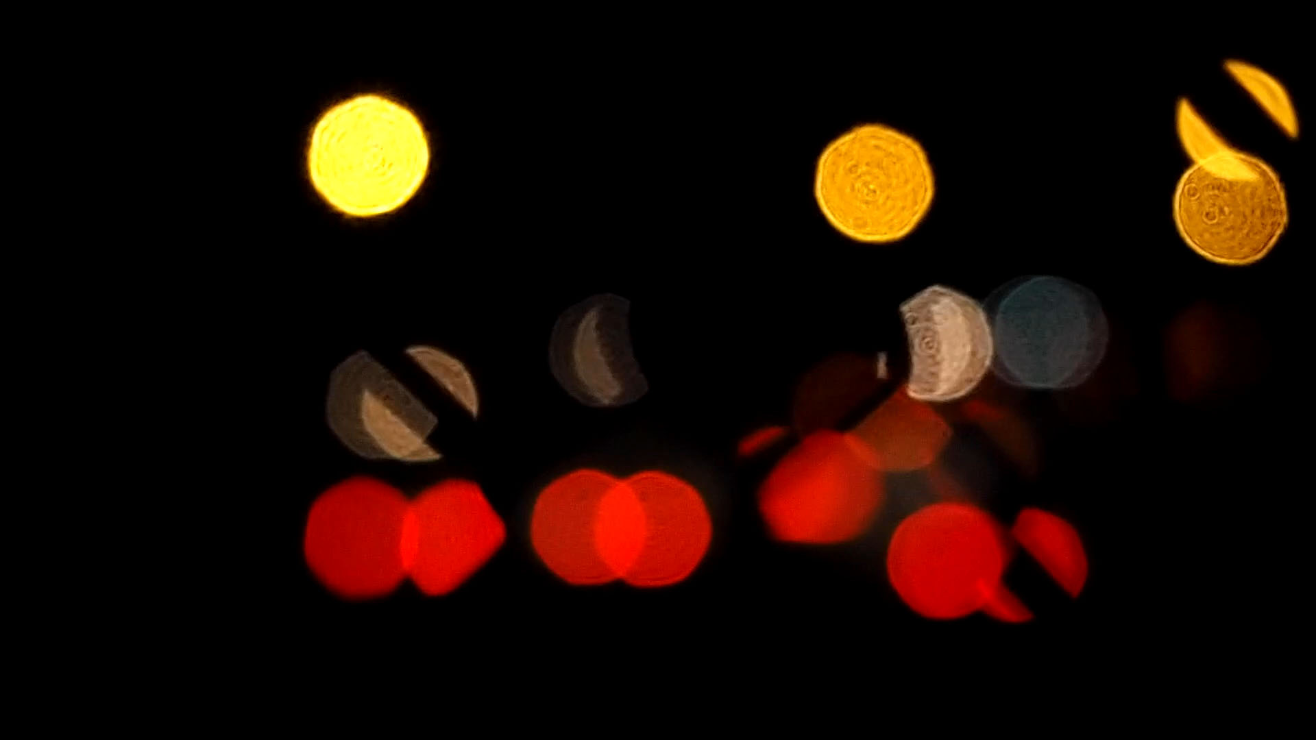 Blurred Car Lights